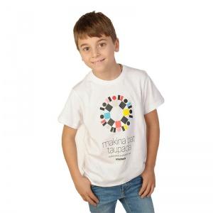 Camiseta blanca niñas y niños