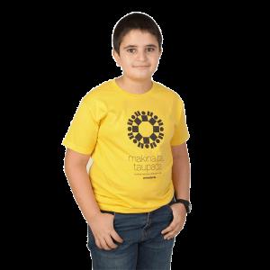 Camiseta amarilla niñas y...